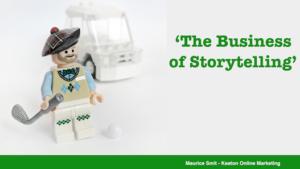 Business Golf - storytelling