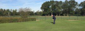 Afscheid van een golfer